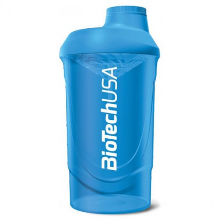 BioTech Shaker Wave 600ml - Blue