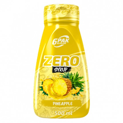 6PAK Sauce ZERO 500ml - Pineapple