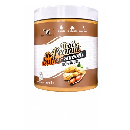 Sport Def. Thats the Peanut Butter Smooth - 1kg