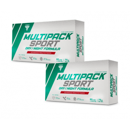 2x Trec Multipack Sport day/night 60kap