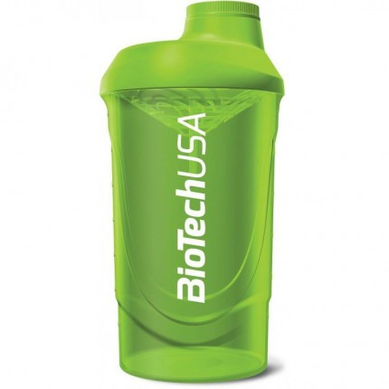 BioTech Shaker Wave 600ml - Green