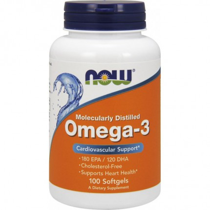 NOW Omega-3 - 100softgels
