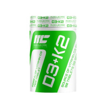 Muscle Care D3K2 - 90tab