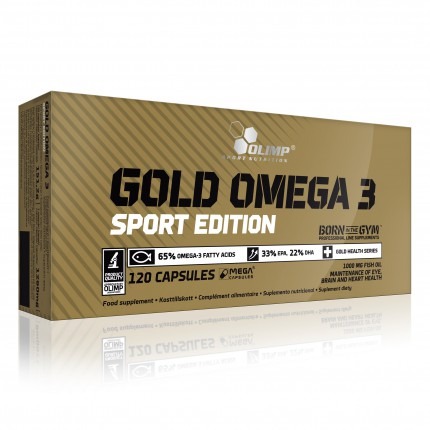 Olimp Gold Omega 3 Sport Edition 120kaps