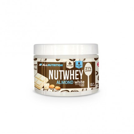 AllNutrition Nutwhey 500g - Almond White