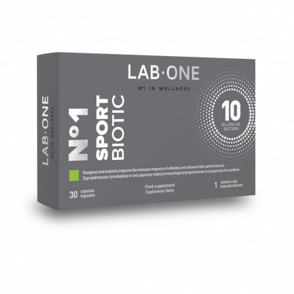 Lab One SportBiotic - 30kaps.