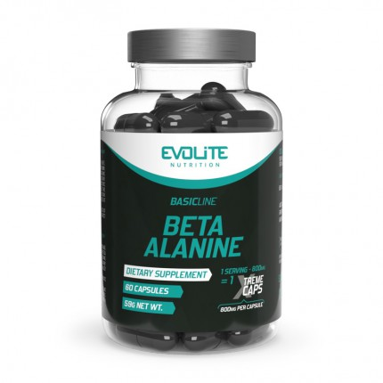 Evolite Beta Alanine Xtreme 800mg - 60kaps.