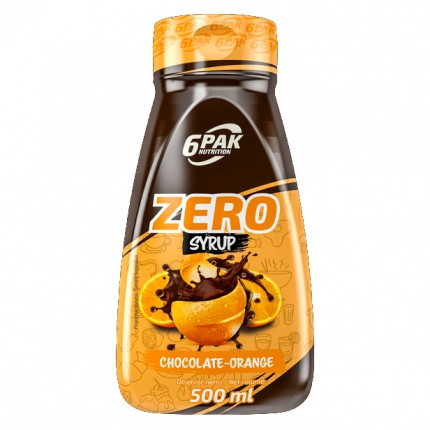 6PAK Sauce ZERO 500ml - Chocolate-Orange