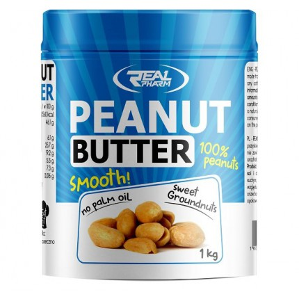 Real Pharm Peanut Butter Smooth - 1000g