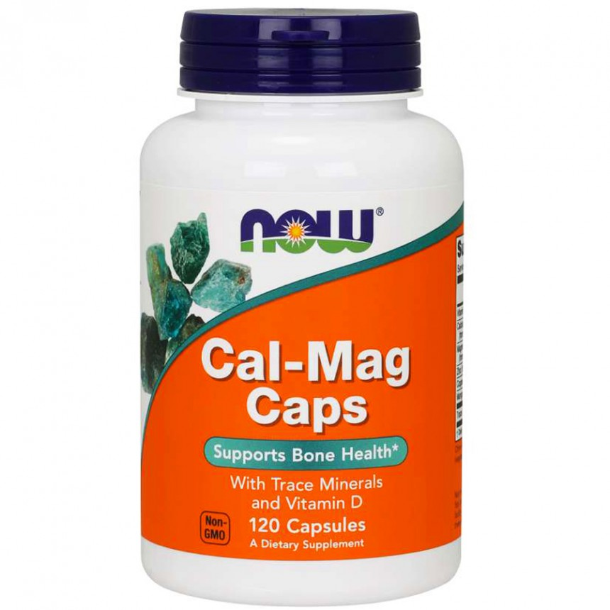 NOW Cal-Mag - 120caps.