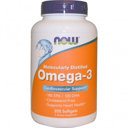 NOW Omega-3 - 200softgels