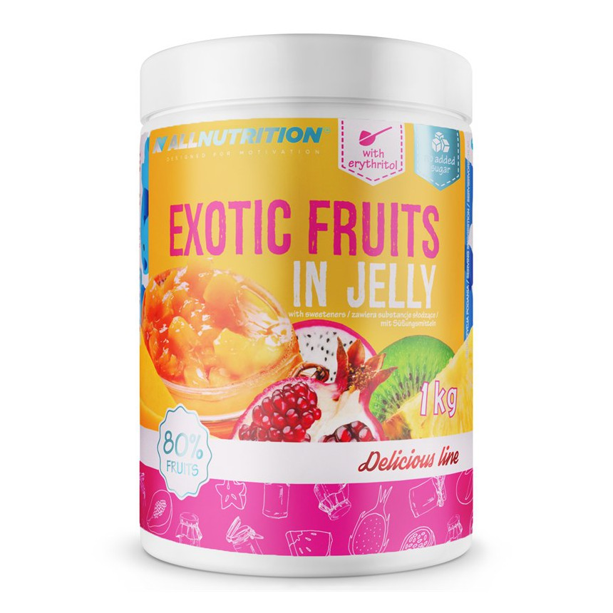 AllNutrition Exotic Fruits in Jelly - 1000g